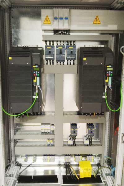 Asfalt Plenti Otomasyon Pano İmalat PLC