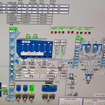 Bitum Tesisleri Bitum Scada Otomasyonu