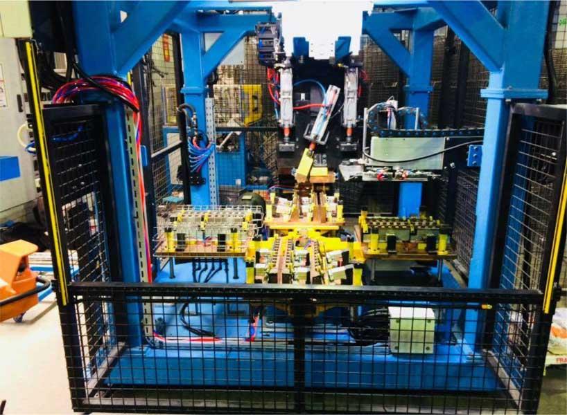 Bulaşık Makinesi Sepet Tarak Kaynak Makinesi Otomasyonu