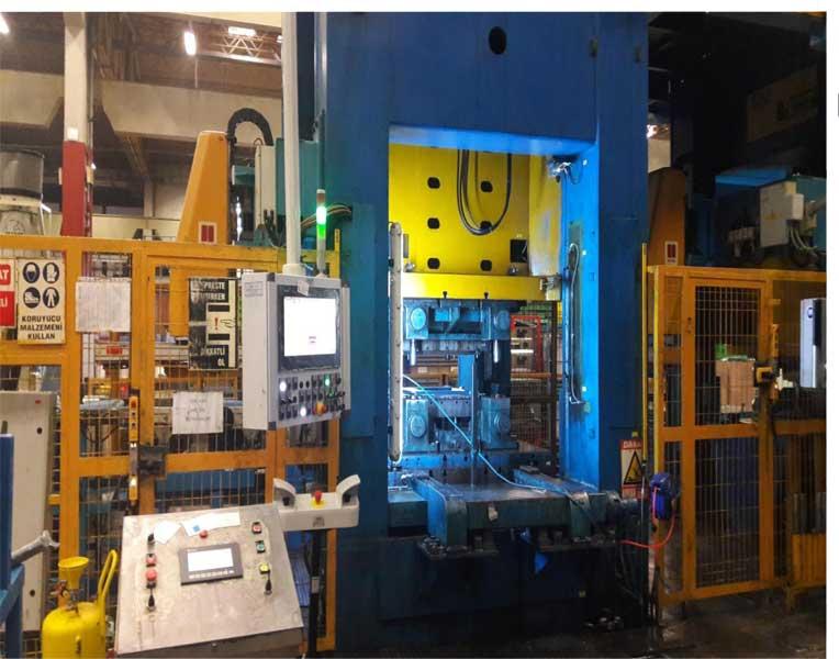 Beyaz Eşya Üretim Hidrolik Press Hattı Modernizasyonu