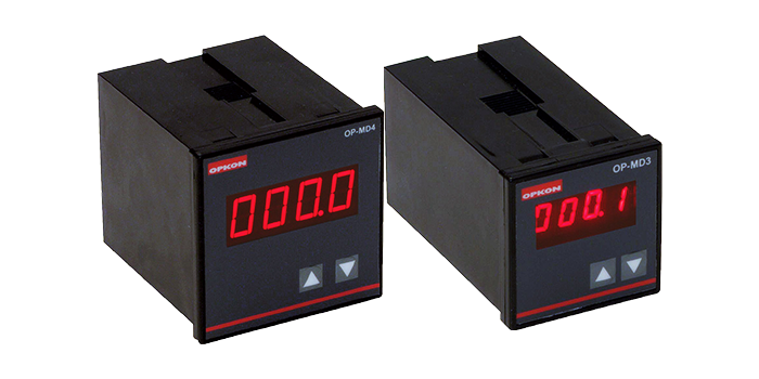 OP-MD3 & MD4 Serisi Pozisyon Ölçme ve Kontrol Cihazı Panel Tipi Pozisyon Ölçme Otomasyon Satış
