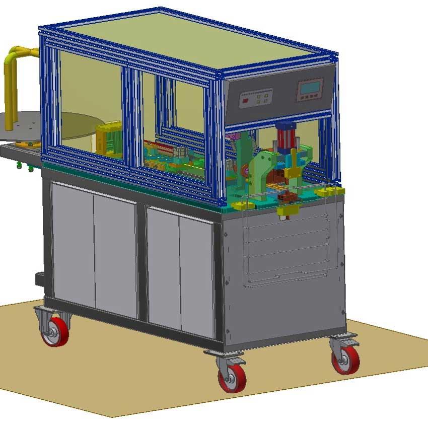 Bulasik Makinesi Askı Teli Punta Kaynak Makinesi Otomasyonu